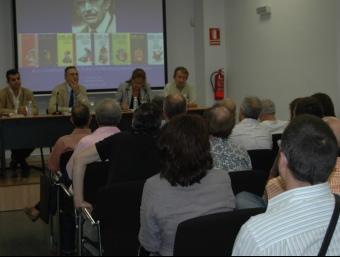 Acte d'inauguració de la Biblioteca Enric Valor de l'IEC a Alacant. ARXIU