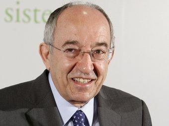 Miguel Ángel Fernández Ordóñez és governador del Banc d'Espanya.  ARXIU