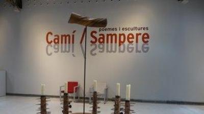 «Libera me» és una de les peces escultòriques de Camí que conforma la mostra.  M.M