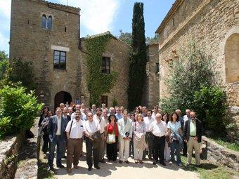 Els assistents a la XV Trobada de Centres d'Estudis de Girona. Pere Duran