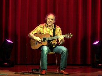 El cantautor Jaume Sisa. urv