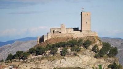 Imatge del Castell de Biar que presideix el municipi i el terme. B. SILVESTRE