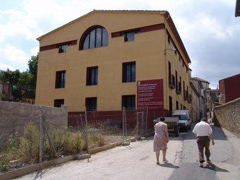Un detall del nou edifici. RAMON ESTEBAN