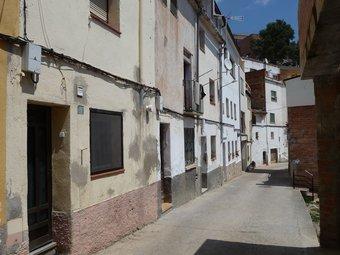 Imatge d'un carrer del Vilet de Sant Quintí de Mediona.  A.M
