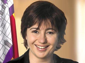 Francina Armengol, que anirà de número 2 a les autonòmiques, pel PSC.