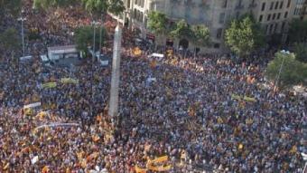 La manifestació multitudinària celebrada el dissabte passat a Barcelona J.LOSADA