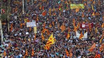 El Passeig de Gràcia el dissabte 10 de juliol J.RAMOS
