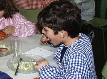 Els alumnes no consumeixen menús prou saludables.