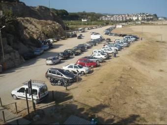 El passeig urbanitzarà el tram de platja verge que separa Arenys de Canet. E.F