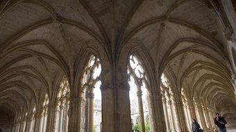 La reconstrucció dels monestirs de Poble i Santes Creus (foto) va ser possible gràcies a l'aportació d'Eduard Toda.  ARXIU