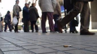 Una burilla a terra pot ser l'inici d'una desagradable experiència amb l'Ajuntament de Barcelona J. GARCIA/ ARXIU