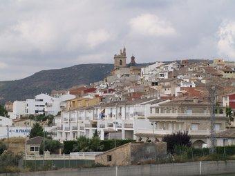 Panoràmica de Villar presa des de la zona d'entrada a la localitat. ESCORCOLL
