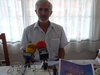 El president d'Escal va participar ahir en un dinar informal amb periodistes. R.ROYO