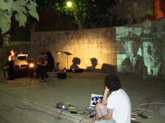 Foto d'arxiu del primer concert que es va fer l'any passat. EL PUNT