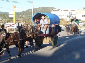 Entrada de la Volta en Carro a la localitat de Villar. ESCORCOLL