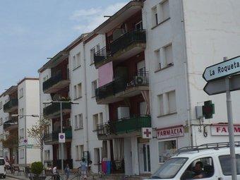 La Roqueta , amb sis blocs de pisos, aplega mla majoria de la immigració. A.V