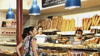 A l'Antiga Casa Bellsolà intenten recuperar les olors i les essències d'un pa artesanal que ens porta a la Girona preindustrial  JORDI SOLER