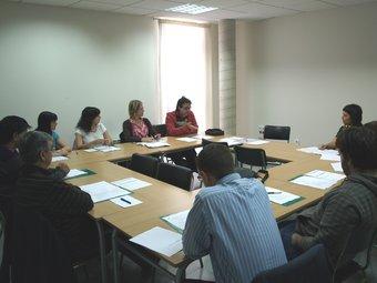 Reunió ordinària de la Comissió Coordinadora del CELS. ESCORCOLL