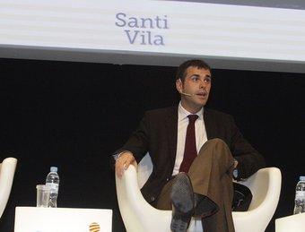 Josep Lagares, Joan Roca, Santi Vila, Olga Felip i Cristóbal Colón. JULIETA SOLER