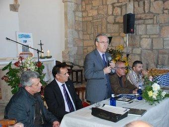 Poblet va presidir els actes a l'ermita dels Sants Metges EL PUNT