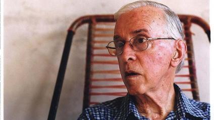 Pere Casaldàliga en una imatge del 2002