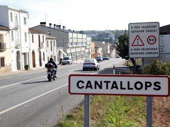 El nucli de Cantallops , entre Subirats i Avinyonet del Penedès, que encara no disposa de depuradora. ANDREU PUIG