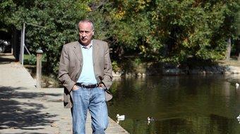 Joan Carretero passeja per Puigcerdà Oriol Duran