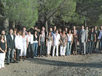 La foto de campanya electoral de la llista encapçalada per Robert Vila. ACN