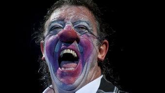 El pallasso Tortell Poltrona, protagonista absolut del nou espectacle del Circ Cric. JESÚS ROCANDIO