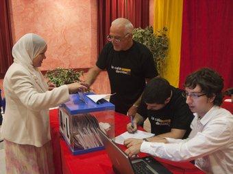 La plataforma va informar les persones nouvingudes sobre la consulta TJERK
