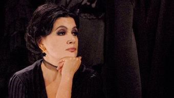 Licia Maglietta és la vídua Borina Serrafalco, protagonista d'aquesta escabrosa història. F. ESPOSITO