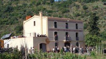 Rehabilitació de la masia Can Soler al districte barceloní d'Horta-Guinardó.  ARXIU