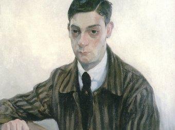 Un retrat d'Enric C. Ricart del pintor vilanoví Alexandre de Cabanyes (1920) BMVB