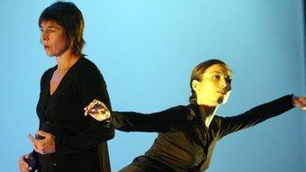 La ballarina i coreògrafa María Muñoz. G. MASSANA