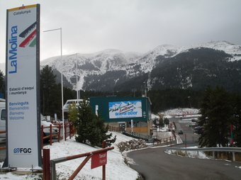 Una vista de la Molina.