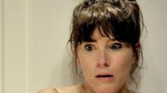 L'actriu en el paper de 'La majoria de suïcidis són en diumenge'. DAVID RUANO