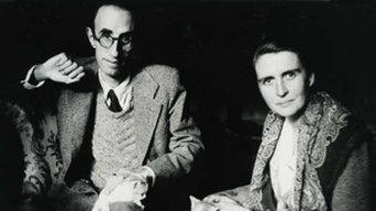 El poeta Màrius Torres amb Mercè Figueras, en una fotografia del 1924