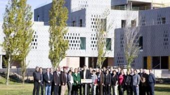 Foto de grup de la candidatura d'ERC a les Terres de l'Ebre. G.M