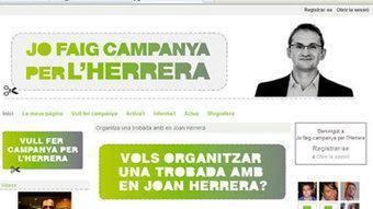 Pàgina inicial de la xarxa social d'Iniciativa