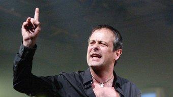 David Bagés és Leontes, en la versió de 'Conte d'hivern' de Carme Portaceli. JOAN SABATER