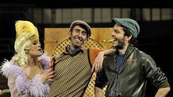 Tres dels protagonistes de l'obra DAVID RUANO