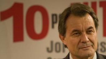 Artur Mas en una conferència ahir mateix JOSÉ CARLOS LEÓN