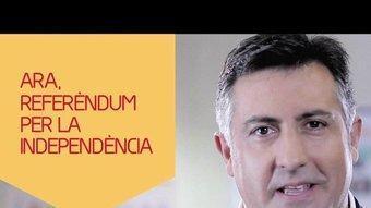Captura d'una imatge de l'espot que estrenarà Esquerra per la campanya electoral que comença aquesta mitjanit REDACCIÓ
