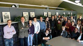 L'equip d'El Punt Girona MANEL LLADÓ