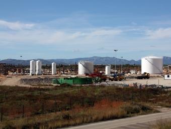 Planta de tractament del projecte Castor, el magatzem submarí de gas en obres R. ROYO