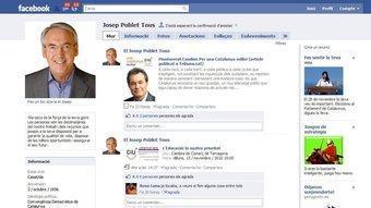 El perfil d Josep Poblet a Facebook.