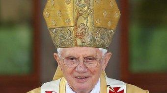 Benet XVI durant la seva recent visita a Barcelona EFE
