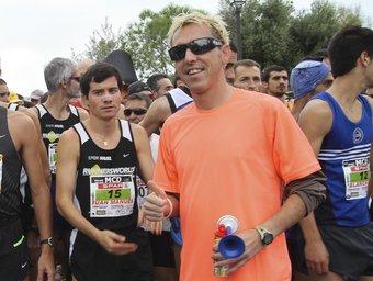 Josep Lluís Blanco, en la marató de la Costa Daurada.  DIMAS BALAGUER
