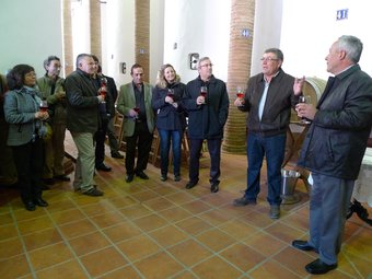 En la fira es van poder degustar diferents classes de vins. EL PUNT