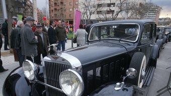 Un dels models de l'empresa Hispano-Suiza, que va obrir filial a París l'any 1911.  ARXIU